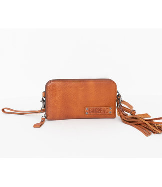 Bag2Bag wallet / clutch New Jackson cognac