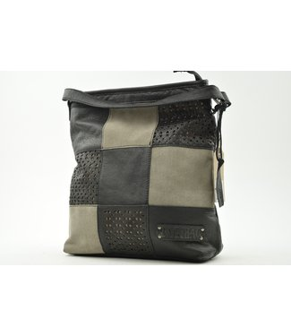 Bag2Bag tas Lagos laser black