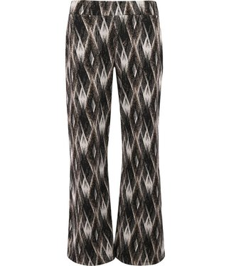 Transfer jaquard knitted pant