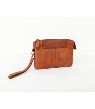 Bag2Bag Mora Clutch cognac