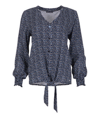 Maicazz blouse Naima dots blue