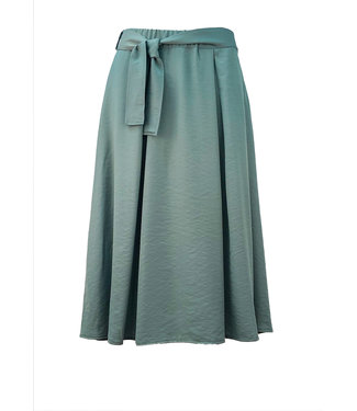 Transfer midi skirt sea green