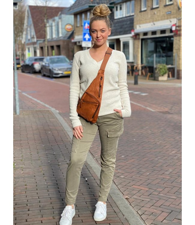 Cup of Joe cargo broek Angel Khaki