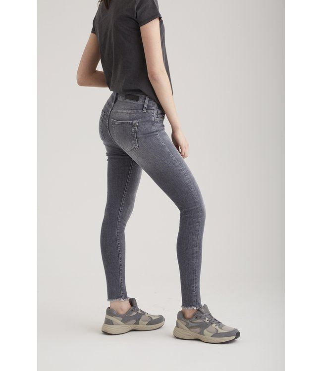 Cup of Joe skinny jeans Lina fringe grey VT