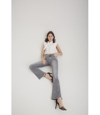 Cup of Joe flared jeans Laura grey VT