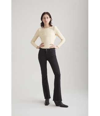 Cup of Joe flared jeans Laura black VT