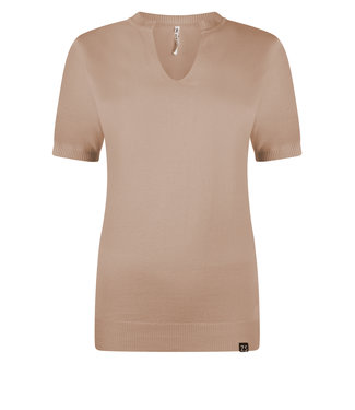 Zoso knitted fancy turle neck  Emmy taupe