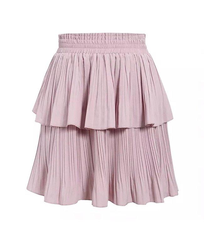 Pink Ruffles Skirt