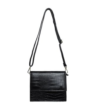 Imani Croco Bag / Black