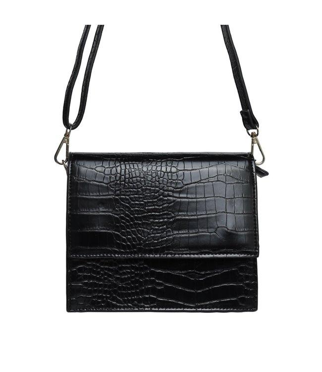 Imani Croco Bag / Black