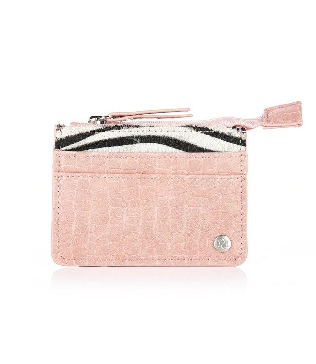 Zebra Cardholder / Pink