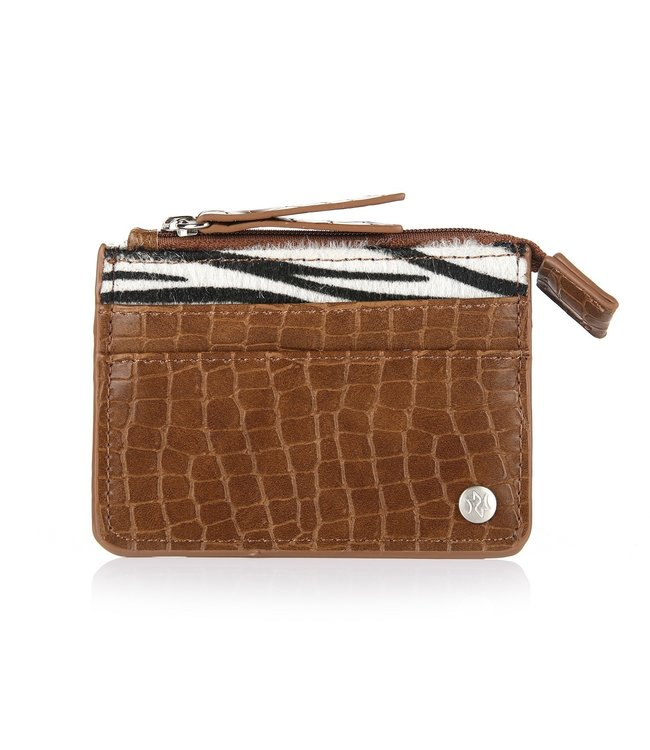 Zebra Cardholder / Brown