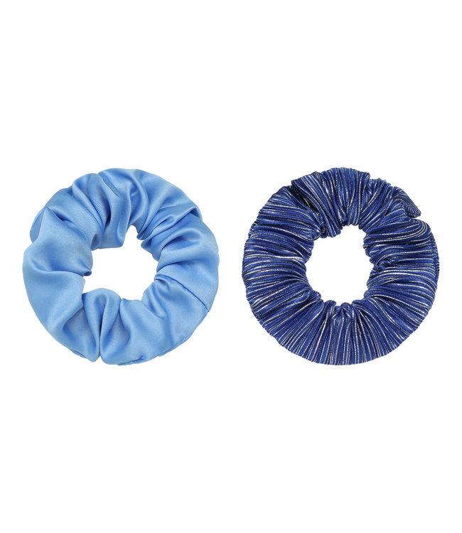 Cera Scrunchie Set / Navy Blue