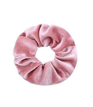 Velvet Pink Scrunchie