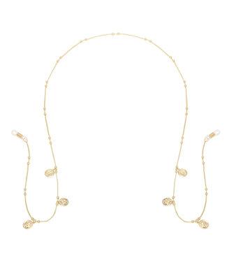 Gold Perfect Coin Sunglasses Cord