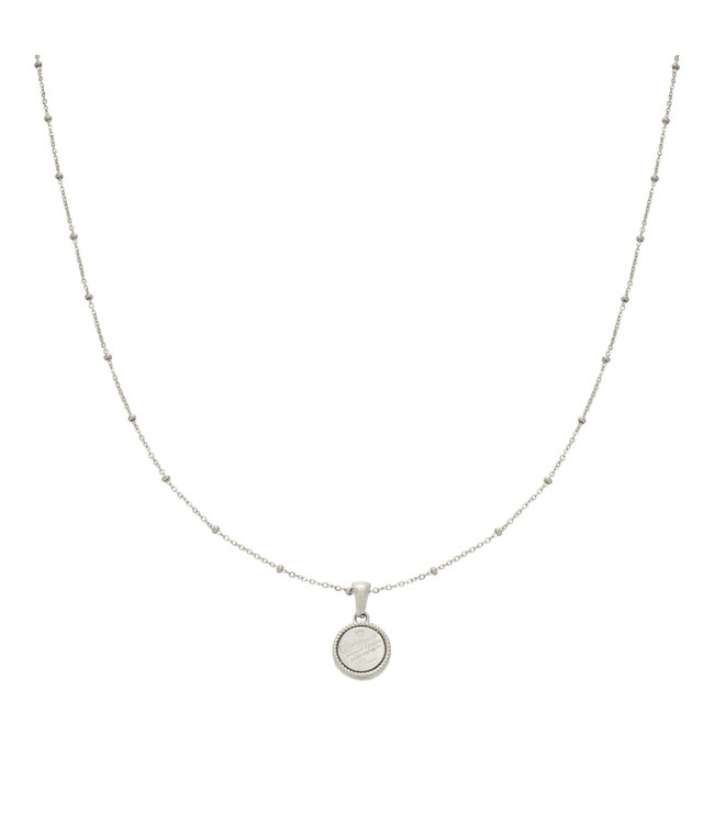 Silver Always Remember Necklace