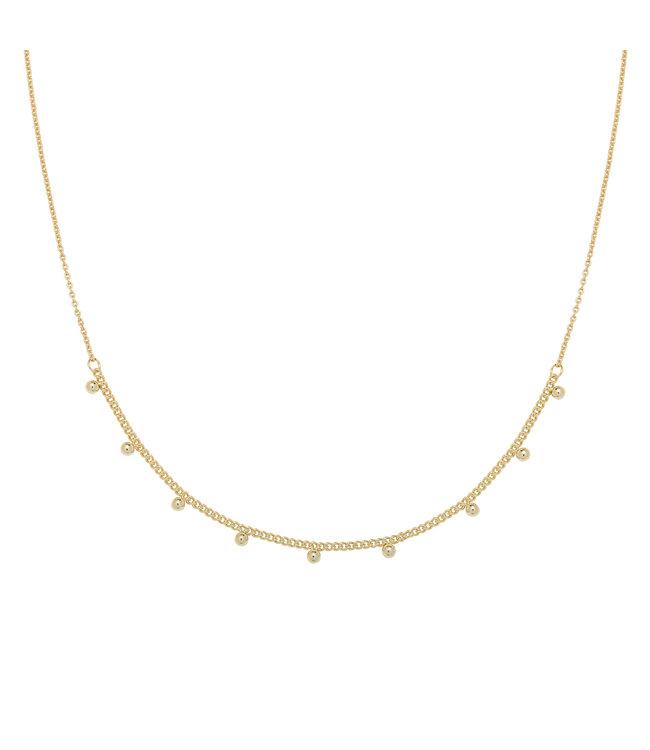 Gold Tiny Love Necklace