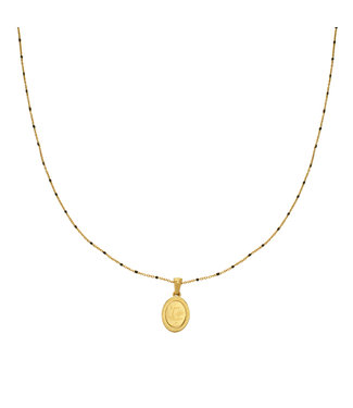 Gold Live Life Necklace