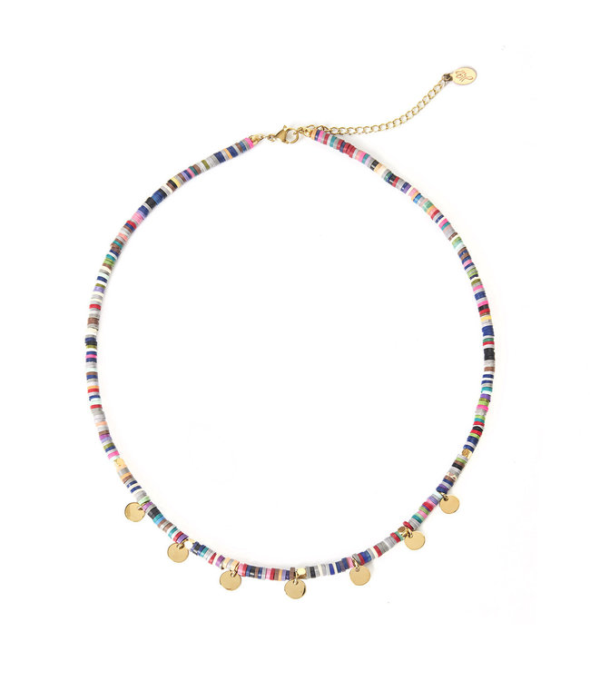 Surf with Me Necklace / Colorful