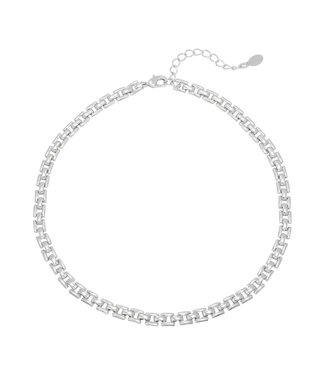 Silver Miss D Necklace