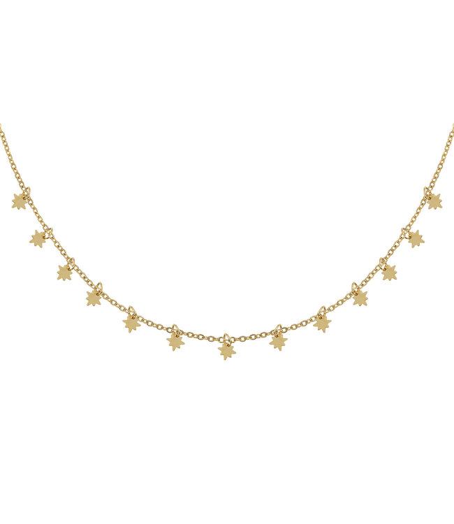 Gold Universe Necklace