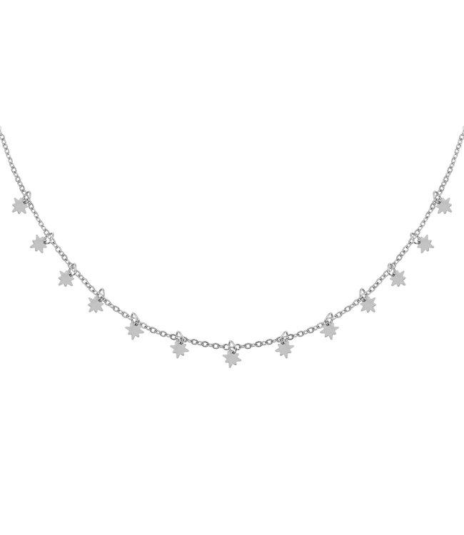 Silver Universe Necklace