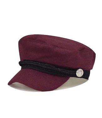 Sailor Cap / Wine Red