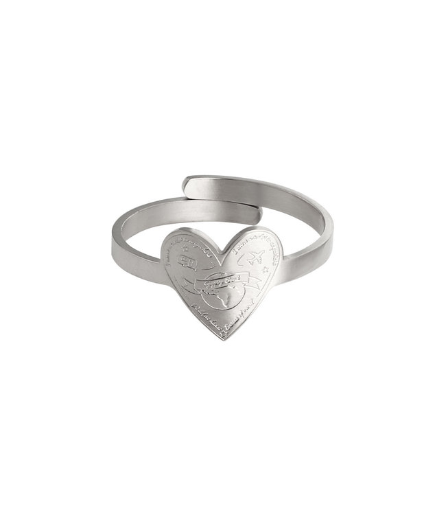 Love to Travel Ring