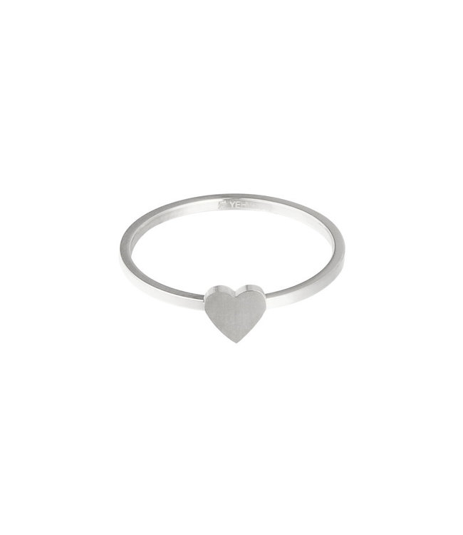 Silver Heart Statement Ring