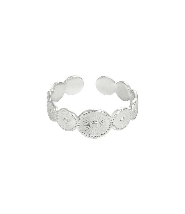 Silver Penelope Ring