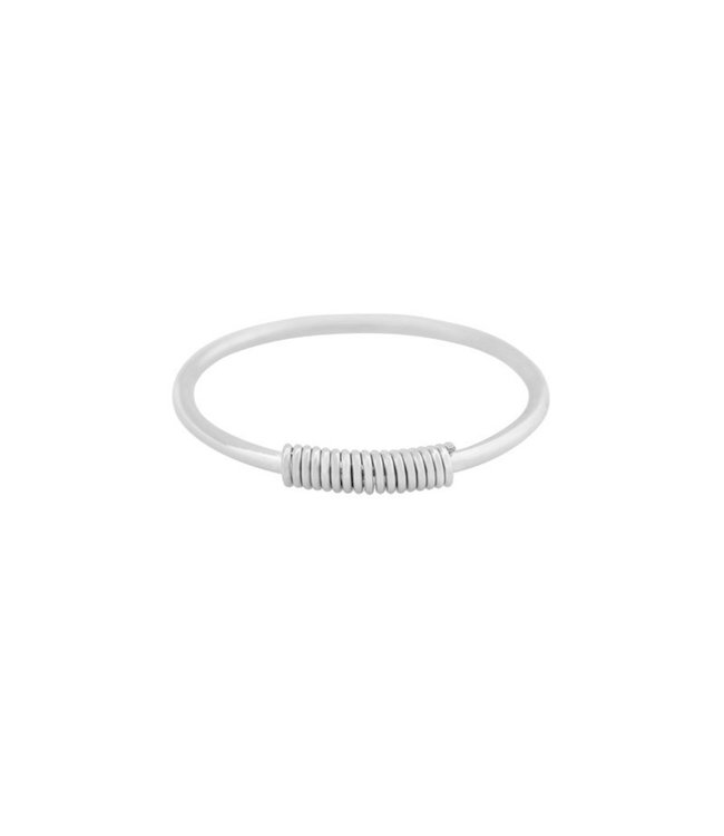 Silver Wired Ring