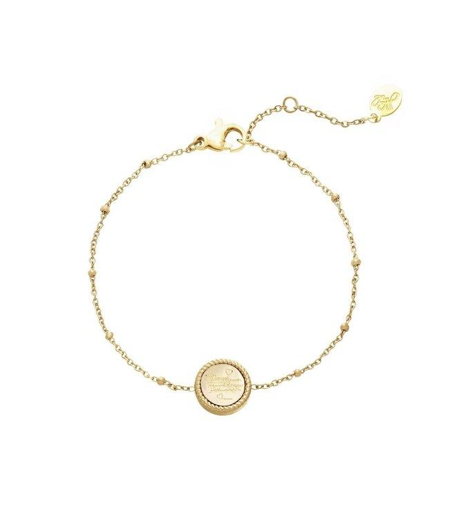 Gold Always Remember Bracelet
