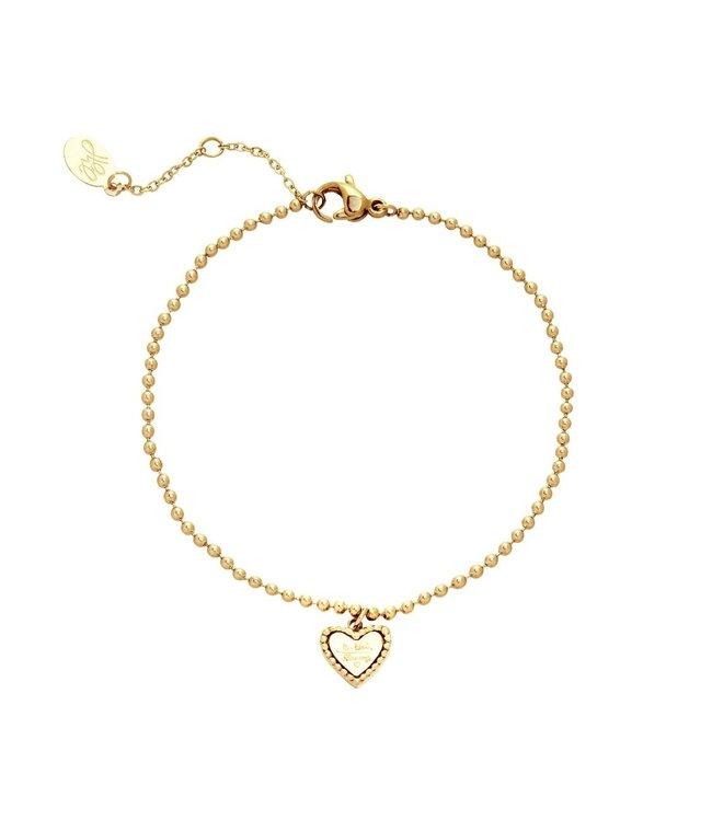Gold Be Kind Bracelet