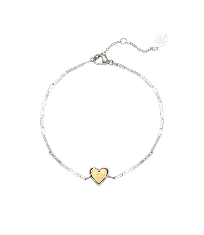 Silver The Globe Bracelet