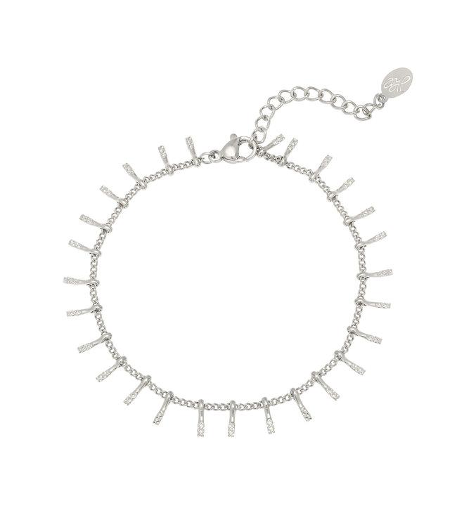 Silver Yara Bracelet