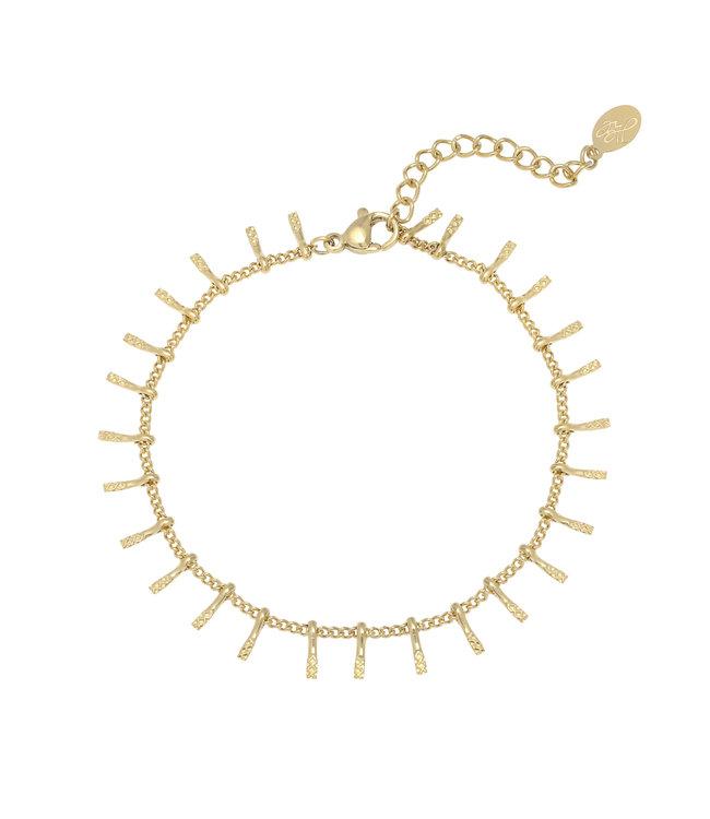 Gold Yara Bracelet