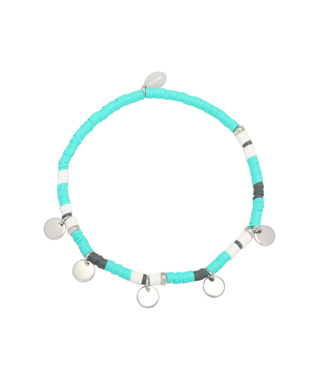 Surf with Me Bracelet / Mint