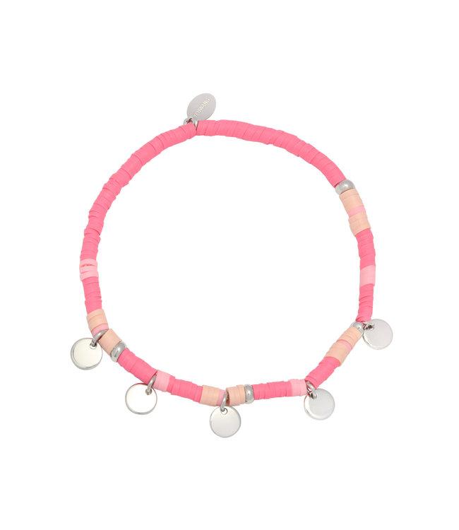 Surf with Me Bracelet / Pink