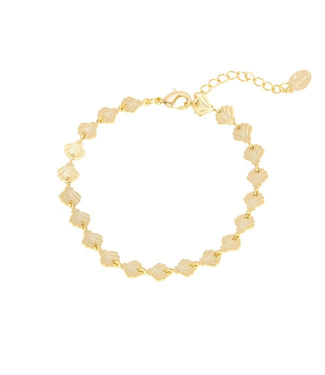 Gold Shells Forever Bracelet