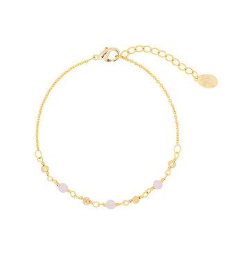 Beads Pink Bracelet