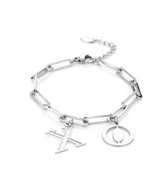 Silver XO Bracelet