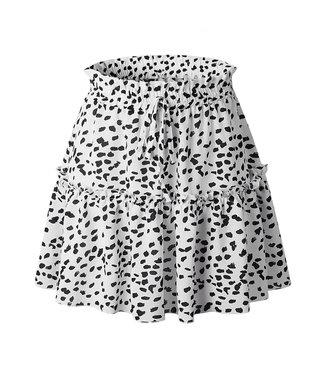 Faye Printed Dots Skirt