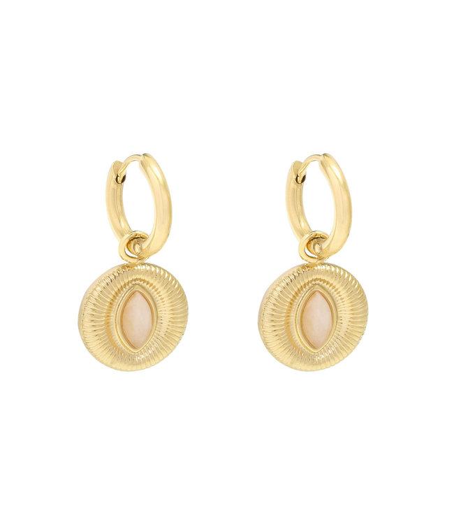 Eye of the Almond Earrings