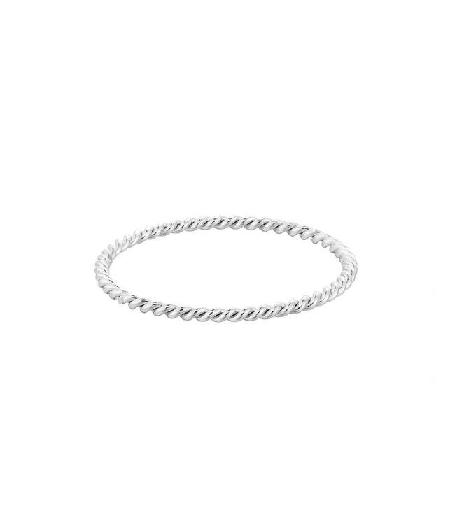 Silver Twistle It Ring