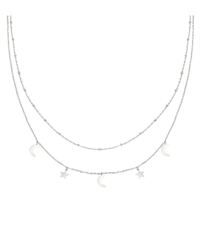 Silver Beyond The Stars Necklace