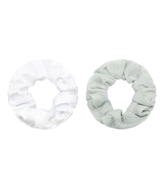 Sugar Scrunchie Set / Silver