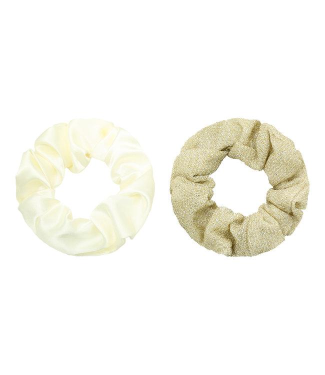 Sugar Scrunchie Set / Gold