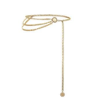 Coin Chain Belt / Gold