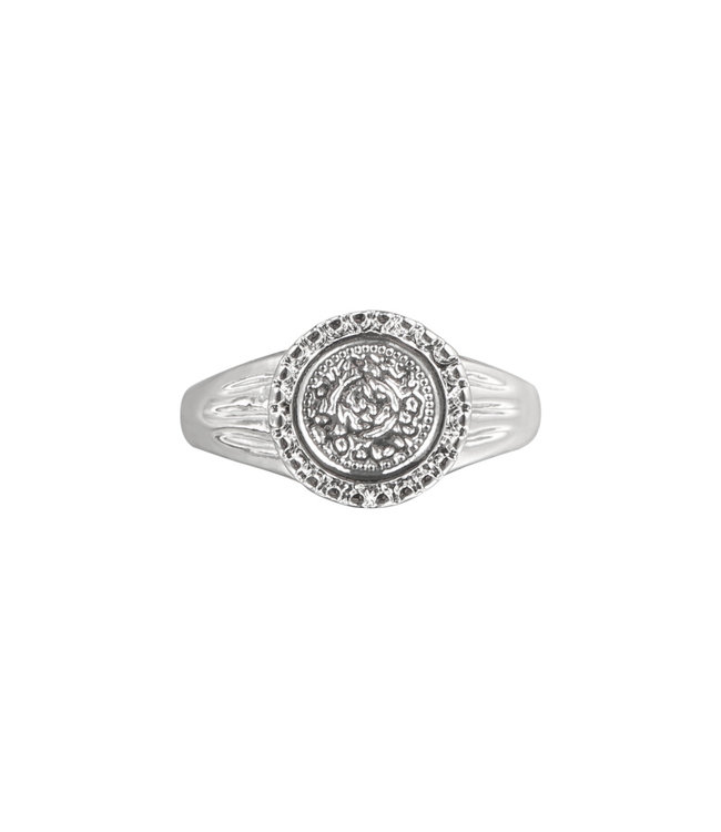 Roman Coin Signet Ring