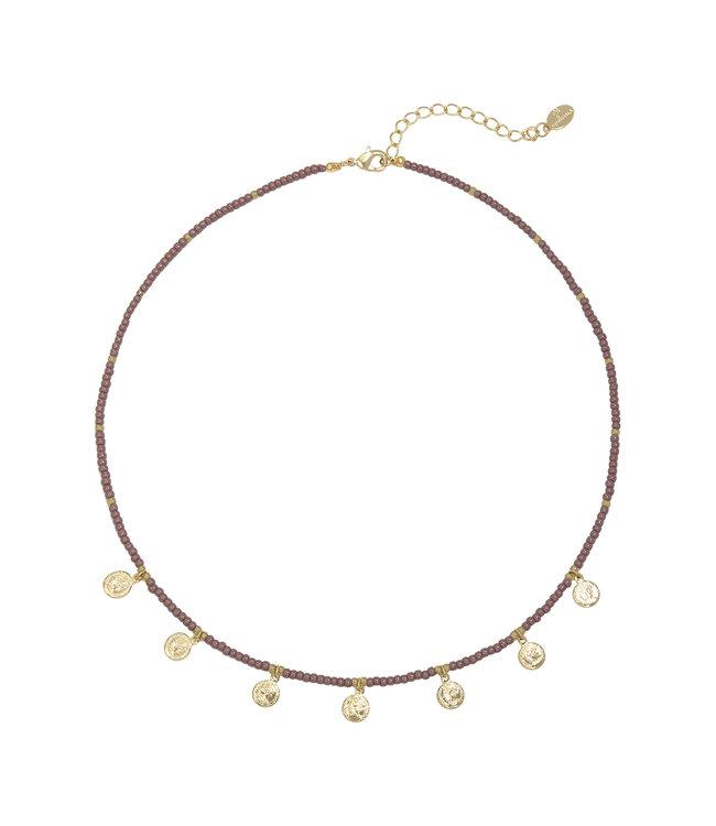 Spiritual Necklace / Purple